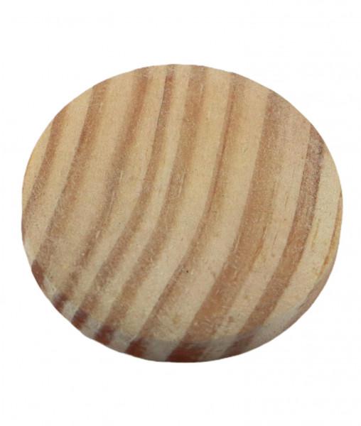 Abdeck-Kappe mit Innenzapfen in Fichte gedämpft Ø 35 mm