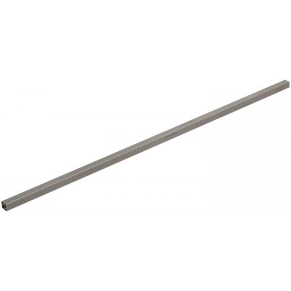Sprossen Edelstahl 16/16mm eckig mit Gewinde M10 1510-1800mm (10mm Schritte)