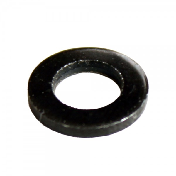 Unterlegscheibe M6 Schwarz, Pack mit 100 Stück