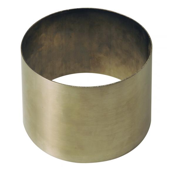 Überschubhülse aus Edelstahl Ø 168mm (bis 200mm)