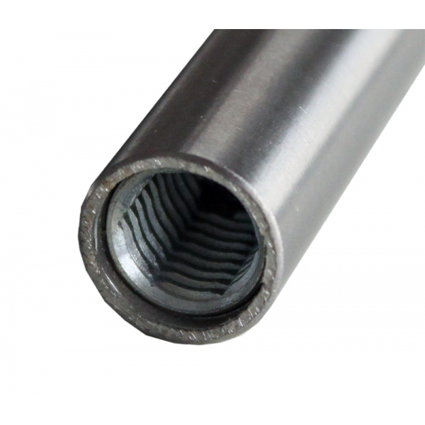 Sprossen Edelstahl 16mm rund mit Gewinde M10 910-1200mm (10mm Schritte)