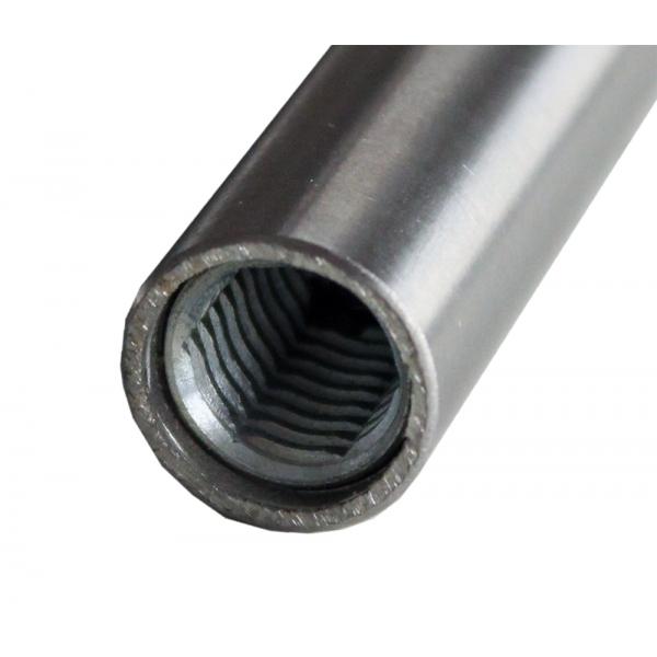 Sprossen Edelstahl 16mm rund mit Gewinde M10 310-600mm (10mm Schritte)