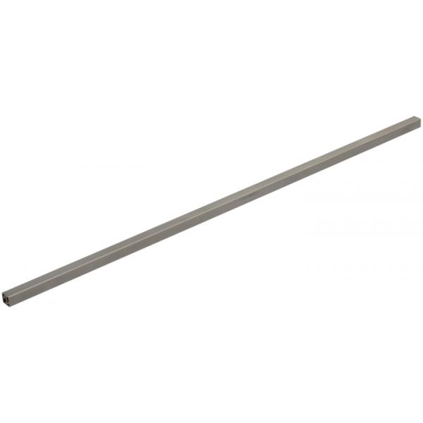 Sprossen Edelstahl 16/16mm eckig mit Gewinde M10 610-900mm (10mm Schritte)