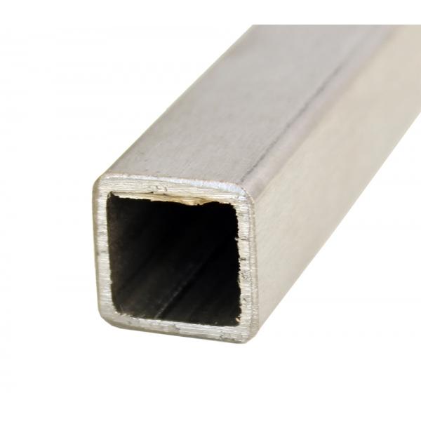 Sprossen Edelstahl 16/16mm eckig ohne Gewinde 600-980mm (10mm Schritte)